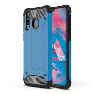 Armor Guard Plastic + TPU Hybrid Case for Samsung Galaxy M30/A40s - Baby Blue