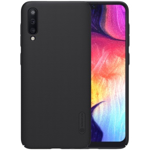 NILLKIN Super Frosted Shield PC Protection Mobile Phone Cover Shell for Samsung Galaxy A50 - Black