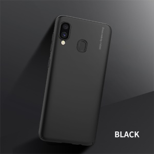 X-LEVEL Knight Series Frosted Plastic Case Shell for Samsung Galaxy A20/A30 - Black