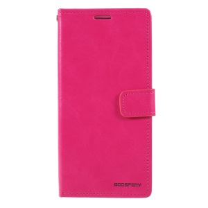 MERCURY GOOSPERY Blue Moon Wallet Leather Mobile Cover for Samsung Galaxy A10 - Rose
