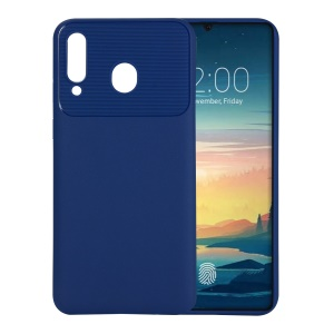 Armour Series Soft TPU Mobile Casing Heat Dissipation Inner for Samsung Galaxy M30 - Blue