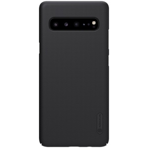 NILLKIN Matte PC Hard Cover Phone Case for Samsung Galaxy S10 5G - Black