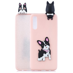 [3D Cute Doll] Patterned TPU Phone Case Cover for Samsung Galaxy A50/A50s/A30s - Dog