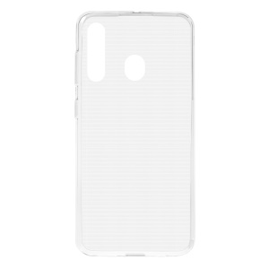 10PCS Transparent Soft TPU Phone Case for Samsung Galaxy A60 with Non-slip Inner