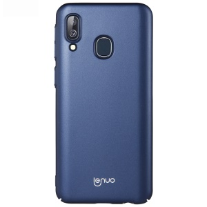 LENUO Leshield Series Silky Touch Hard Phone Cover for Samsung Galaxy A40 - Dark Blue