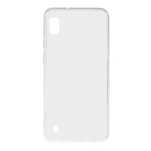 Transparent Glossy TPU Mobile Phone Cover Case for Samsung Galaxy A10