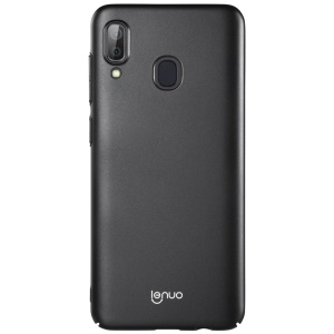 LENUO Silky Touch Hard Plastic Case for Samsung Galaxy A30 - Black