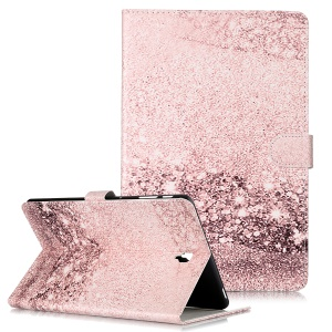 Pattern Printing Wallet Stand Flip Leather Tablet Case for Samsung Galaxy Tab S4 10.5 SM-T830/T835/T837- Glittery Elements