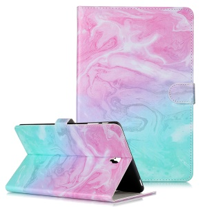 Pattern Printing Wallet Stand Flip Leather Tablet Case for Samsung Galaxy Tab S4 10.5 SM-T830/T835/T837- Colorfule Stone Grain