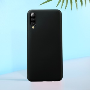 X-LEVEL Dynamic Series Anti-fall Upgrade Liquid Silicone Protective Case for Samsung Galaxy A50 - Black