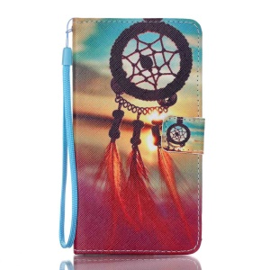 Leather Case Wallet Stand for Samsung Galaxy J7 (2016) - Dreamcatcher Sunset