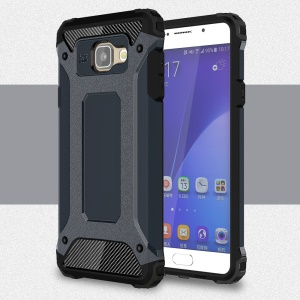 Armor PC TPU Case for Samsung Galaxy A5 SM-A510F (2016) - Dark Blue