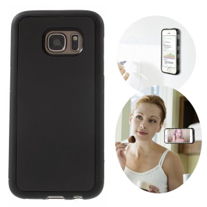 Magic Stick to Mirror Whiteboard Anti-Gravity Case for Samsung Galaxy S7 G930 - Black