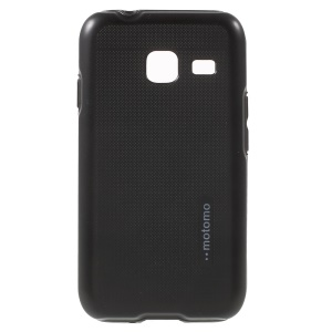 MOTOMO TPU + PC Hybrid Case for Samsung Galaxy J1 mini - Black