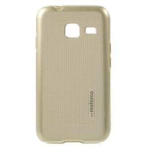 MOTOMO TPU + PC Protecive Case for Samsung Galaxy J1 mini - Gold