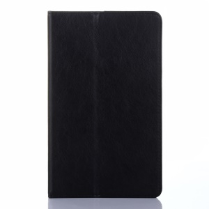 Leather Card Holder Stand Case for Samsung Galaxy Tab E 8.0/T377/T375 - Black