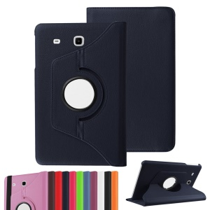 Rotary Stand Leather Flip Case for Samsung Galaxy Tab A 7.0 T280 T285 - Dark Blue