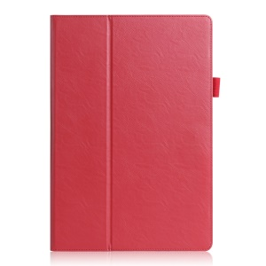 Smart Leather Stand Shell for Samsung Galaxy TabPro S - Red