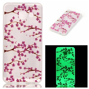 Patterned Luminous TPU Case for Samsung Galaxy A3 SM-A310F (2016) - Fresh Flowers