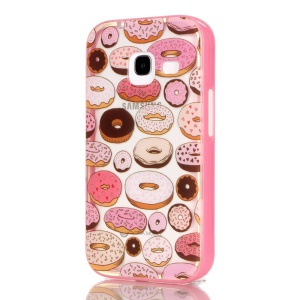 2-in-1 TPU & Plastic Hybrid Case for Samsung Galaxy J1 mini - Cookies