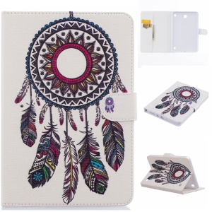 Wallet Leather Stand Case for Samsung Galaxy Tab A 8.0 SM-T350 - Dream Catcher