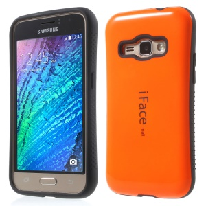 IFACE MALL PC + TPU Combo Case for Samsung Galaxy J1 (2016) - Orange