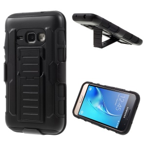 PC + Silicone Swivel Belt Clip Holster Case for Samsung Galaxy J1 (2016)