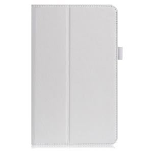 Card Holder Flip Leather Stand Cover for Samsung Galaxy Tab A 10.1 (2016) SM-T580 - White