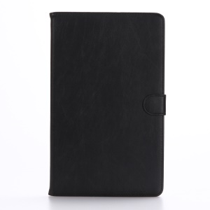 Retro Style Wallet Leather Smart Case for Samsung Galaxy Tab A 10.1 (2016) T580 T585 - Black