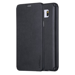 X-LEVEL FIB Color Flip Leather Stand Cover para Samsung Galaxy Note 5 SM-N920 - negro
