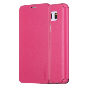 X-LEVEL FIB Color Slim Leather Flip Case for Samsung Galaxy Note 5 SM-N920 - Rose