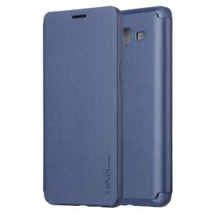 X-LEVEL for Samsung Galaxy On5 FIB Color Slim Leather Case - Dark Blue
