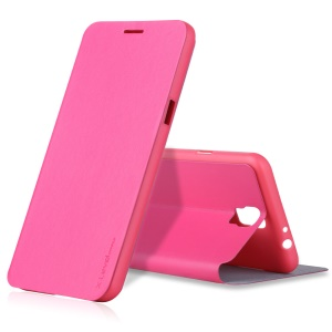 X-LEVEL Stand Leather Protective Case for Samsung Galaxy Mega 2 G750 G7508 - Rose