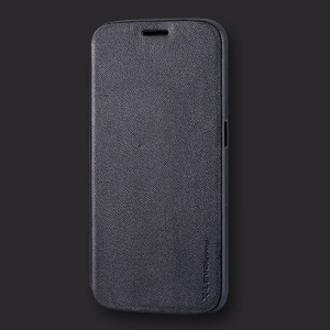 X-LEVEL Stand Leather Phone Case for Samsung Galaxy S6 G920 - Black