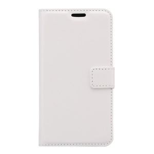 Crazy Horse Wallet Leather Stand Cover for Samsung Galaxy S7 Active - White