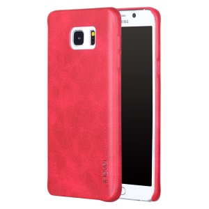 X-NIVEL Vintage Series cuero recubierto Hard PC Case para Samsung Galaxy Note5 SM-N920 - rojo