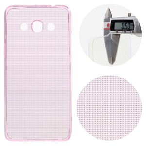 0.5mm Ultra-thin TPU Skin Case for Samsung Galaxy J3 Pro - Pink
