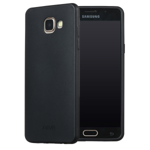 X-LEVEL Guardian Series Frosted TPU Gel Case para Samsung Galaxy A5 SM-A510F(2016) - negro