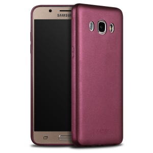 X-LEVEL Guardian Series Matte TPU Case for Samsung Galaxy J7 (2016) - Wine Red