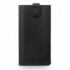 QIALINO Genuine Leather Wallet Pouch Phone Case for Samsung Galaxy S7/S6/Note5/Note7 - Black