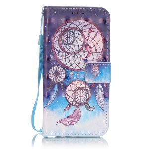 Patterned Leather protective Shell for Samsung Galaxy S7 G930 - Dream Catcher