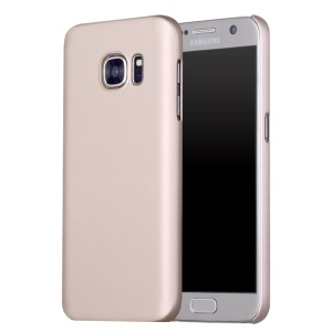 X-LEVEL Rubberized Hard Protector Case for Samsung Galaxy S7 G930 - Gold