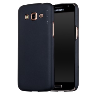 X-LEVEL Metallic Plastic Case for Samsung Galaxy Grand 2 G7102 G7100 - Black