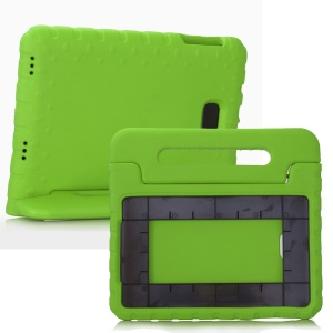 Shockproof EVA Protective Case Handle Stand for Samsung Galaxy Tab A 10.1 (2016) T580 T585 - Green