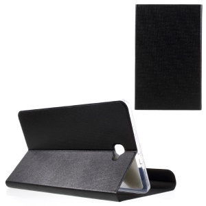 Dot Texture Magnetic Leather Stand Case for Samsung Galaxy Tab A 10.1 (2016) T580 T585  - Black