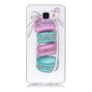 IMD Clear TPU Cover for Samsung Galaxy A5 SM-A510F (2016) - Macarons