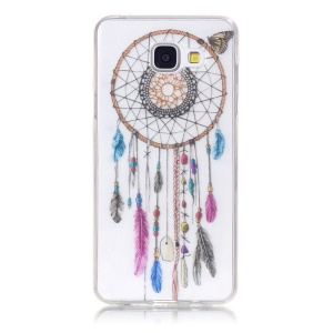 Soft TPU IMD Cover for Samsung Galaxy A5 SM-A510F (2016) - Dream Catcher and Butterfly
