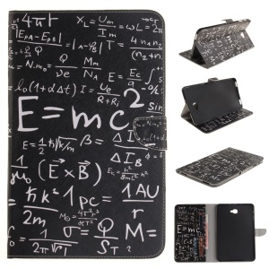 Wallet Leather Tablet Case for Samsung Tab A 10.1 (2016) T580 T585 - Mass-energy Equation
