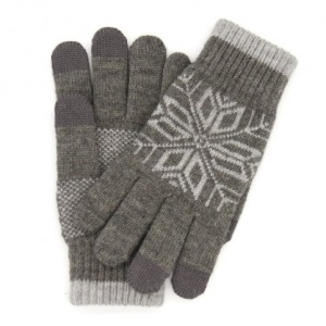 Xiaomi Mi Wool Touch Screen Men Gloves for iPhone iPad iPod Samsung HTC - Grey