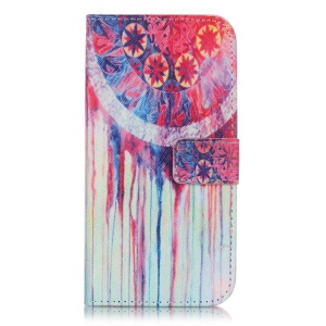 Magnetic Leather Stand Cover for Samsung Galaxy J3 / J3 (2016) - Dream Catcher